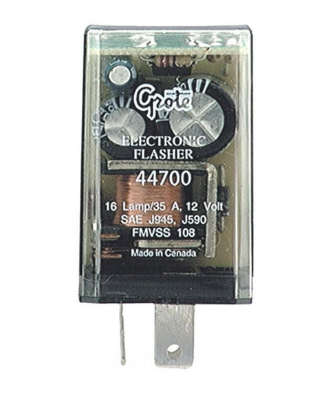 Grote 44700 16 Lamp Electronic Flasher- 3 Terminal