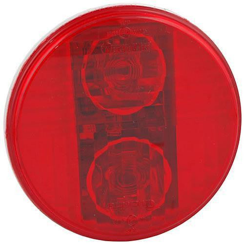 Truck-Lite 44931R 44 Series Red Polycarbonate LED Fog Light