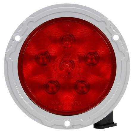 Truck-Lite 44954R Super 44, LED, Red, Round, 6 Diode, S/T/T, 12V
