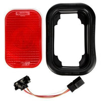 Truck-Lite 45022R 45 Series, Incan., Red Reflectorized, 1 Bulb, LLV S/T/T, Black Grommet, 12V, Kit