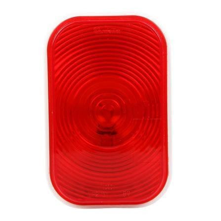Truck-Lite 45202R Super 45, Incan., Red, Rectangular, 1 Bulb, S/T/T, PL-3, 12V