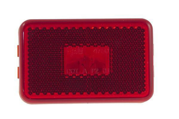 Grote 45232 Red Incandescent Clearance/Marker w/Built-in Reflector