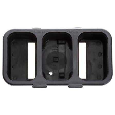 Truck-Lite 45323 45 Series, Module Housing, Black Thermoplastic Rubber