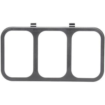 Truck-Lite 45333 Latch Cover, 45 Series Lights, Rectangular, Black, Cover, Kit