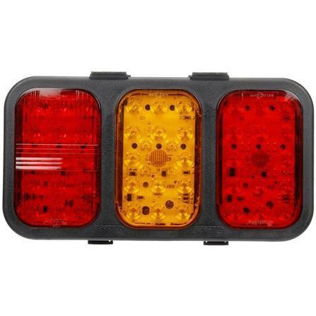 Truck-Lite 45421 45 Series, LED, Rear Fog & S/T Module, LH, Black Polypropylene, Turn Signal, 12-24V
