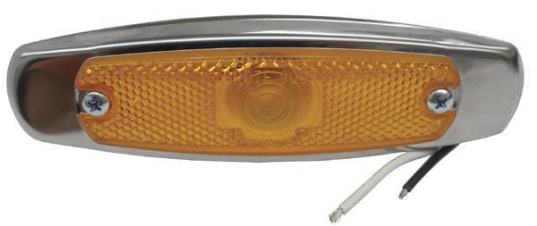 Grote 45663 Yellow Low Profile Clearance/Marker w/Bezel