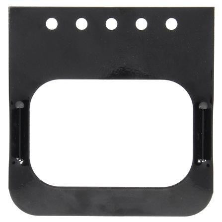 Truck-Lite 45721 Bracket Mount, 45 Series Lights, Rectangular, Black, 5 Screw Bracket Mount