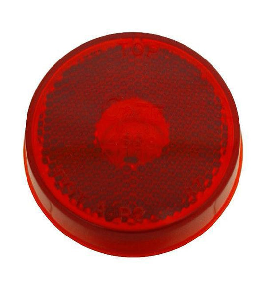 "Grote 45832 Red Reflectorized 2 1/2"" Clearance marker"