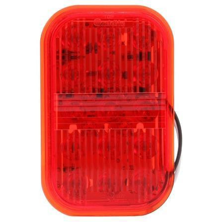 Truck-Lite 45933R 45 Series Red Polycarbonate LED Fog Light