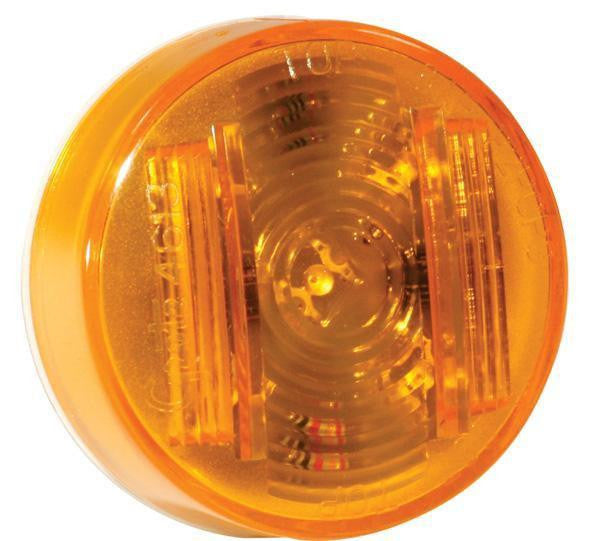 "Grote 46133 Yellow SuperNova® 2"" Clearance Marker LED Light PC Rated"