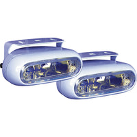 Peterson E582-2W White Oval Nightwatcher Slim ION Docking/Fog Light