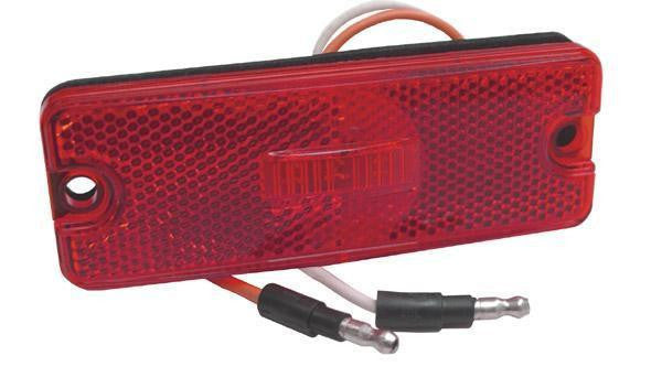 Grote 47732 Red Sealed Rectangular LED Clearance/Marker