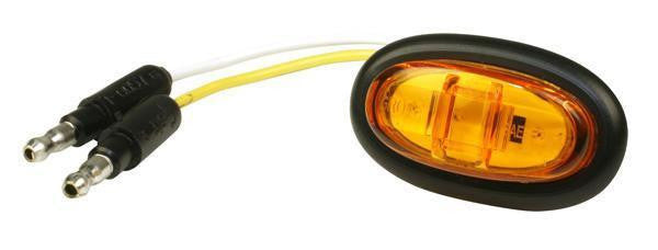 Grote 47973 Yellow MicroNova® LED Clearance Marker Light PC Rated w/Grommet