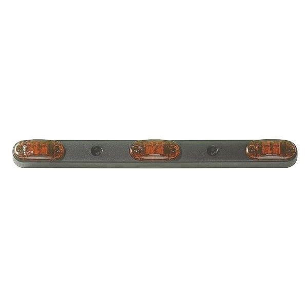 "Grote 49212-5 Red 2 1/2"" Oval LED ID Bar"