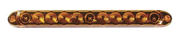 "Grote 49223 Yellow 15"" Lens Thin Line LED ID Bar"