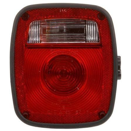 Truck-Lite 5023Y102 Navistar Polycarbonate LH Combination Box Light 3 Stud License Light