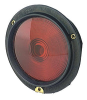 Grote 50502 Rubber Housing Light, Double Contact, Red