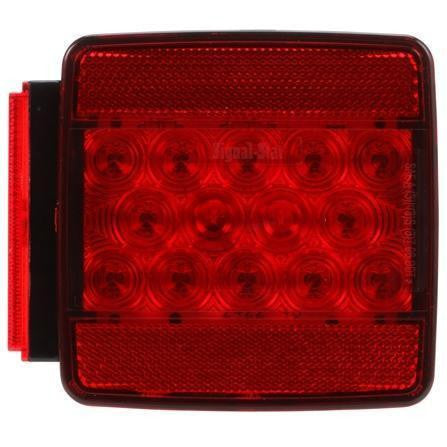 Truck-Lite 5056D Acrylic LH Combination Box Light 2 Stud Display
