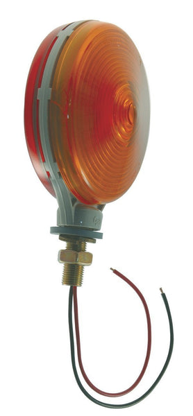 Double Contact Grote 50652 Red//Yellow Thin-Line Die-Cast Single-Face Light