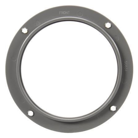 Truck-Lite 50831 Flange Mount, 4 in Diameter Lights, Round, Gray, Flange Mount