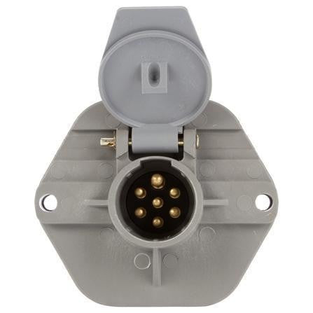 Truck-Lite 50866 50 Series, Threaded Stacking Studs, 7 Solid Pin, Receptacle