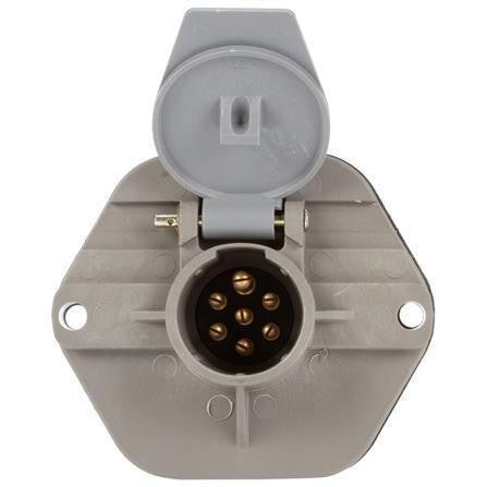 Truck-Lite 50867 50 Series, Threaded Stacking Studs, 7 Split Pin,  Receptacle