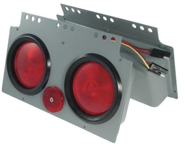 "Grote 51052 Red 4"" STT Light Power Modules"