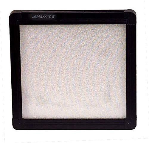 "Maxxima M84412-B Wafer Thin White LED 4.7"" x 4.7"" Flat Panel Light w/ Black Housing"
