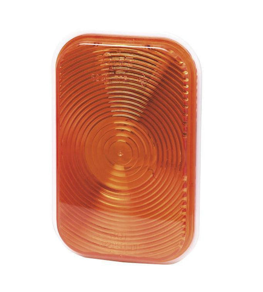 Grote 52203 Rectangular Stop Tail Turn Light, Park Turn, Double Contact, Yellow