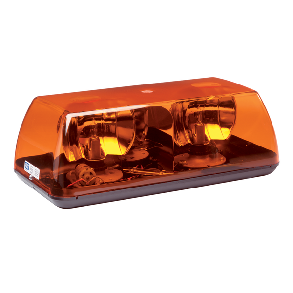 "ECCO 5315A SAE CLASS I, 15"", PERMANENT, AMBER Rotating Minibar - Levine Auto and Truck Lighting"