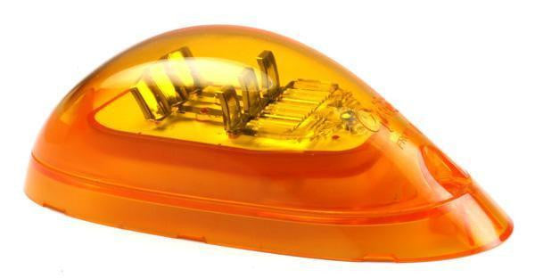 Grote 53493 SuperNova® Surface Mount LED Side Turn Marker Light, Yellow