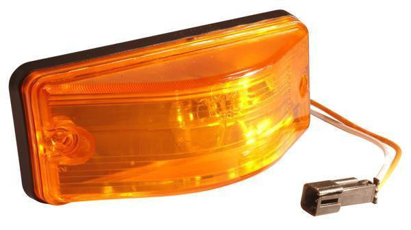 Grote 53833 OEM Style Side Turn Marker Light, Sealed, Yellow