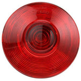 Truck-Lite 540 Permastat, Incan., Red/White, Round, 1 Bulb, S/T/T, 2 Stud, Hardwired, Stripped, 12V