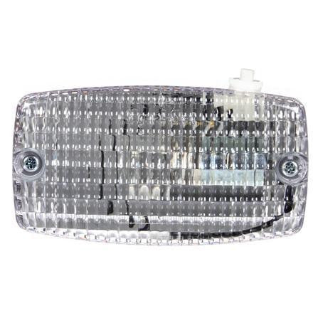 Truck-Lite 549SWD Incan., 1 Bulb, Clear, Rectangular, Utility Light, 12V, Display