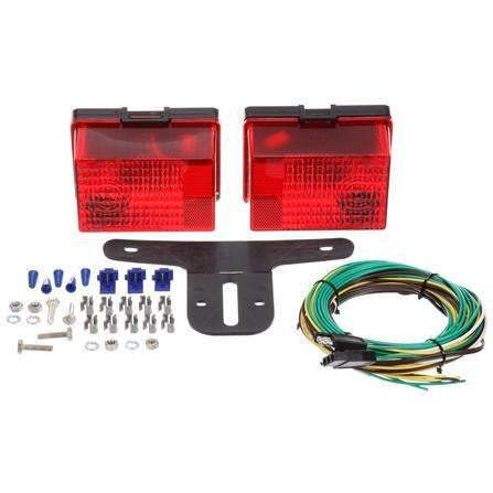 Truck-Lite 55554-1 Submersible incandescent Personal Trailer Kit With LH and RH Hardwired, Stripped End Kit