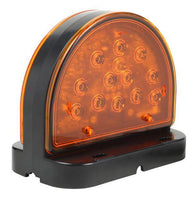 Grote 56160-5 LED Amber Surface Mount Warning Light for Agriculture & Off-Highway