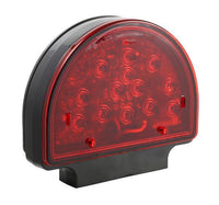 Grote 56170-5 LED Red Pedestal Warning Light for Agriculture & Off-Highway