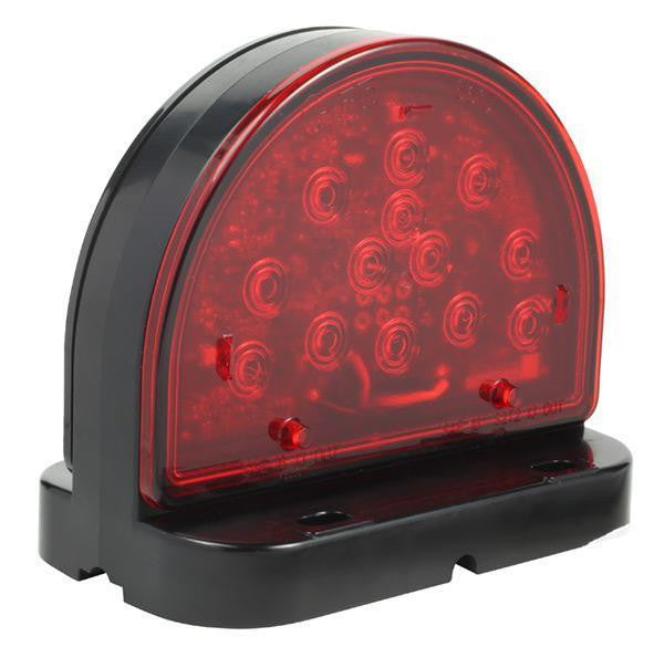 Grote 56180-5 LED Red Surface Mount Warning Light for Agriculture ( Discontinued )
