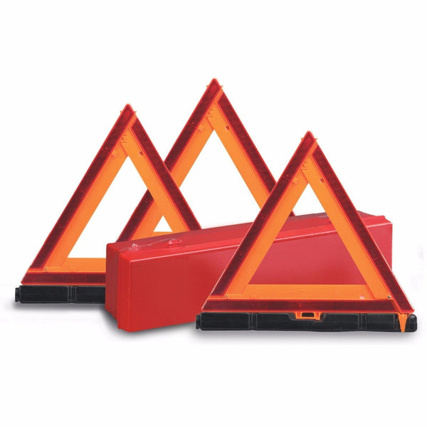 Arrow 73-0711-41 Deflecto Warning Triangles Kit, Complies with DOT/SAE Regulations