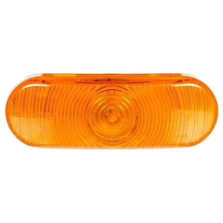 Truck-Lite 60202Y Yellow Oval Super 60 Incan 1 Bulb Front/Park/Turn 12V