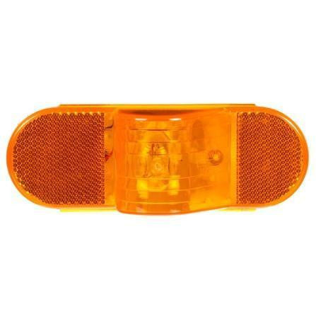 Truck-Lite 60215Y 60 Series Incan Yellow Oval 1 Bulb Horizontal Side Turn Signal 12V