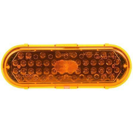 Truck-Lite 60892Y Yellow 60 Series LED Oval Front Park Turn Light