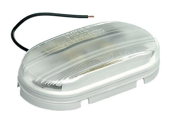 Grote 61081 Clear 2 Bulb Economy Dome Light