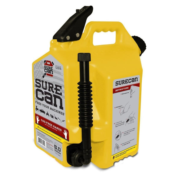 SureCan 5 Gallon Diesel Can (5 Gal) SUR50D1