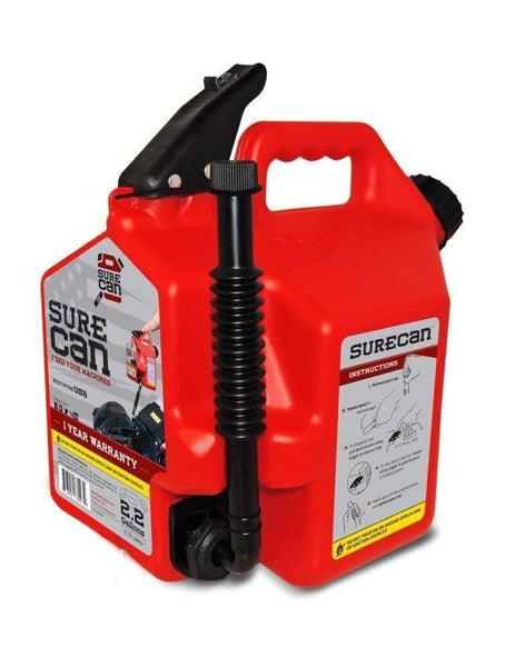 SureCan 2+ Gallon Gasoline Can (2.2 Gal)