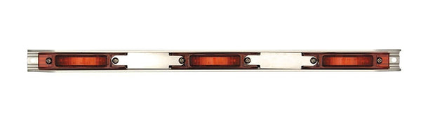 Maxxima M20343R Red 21 LED Clearance Marker Aluminum ID Bar
