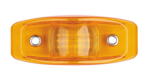 Maxxima M27340Y Amber Bus Clearance Marker Light