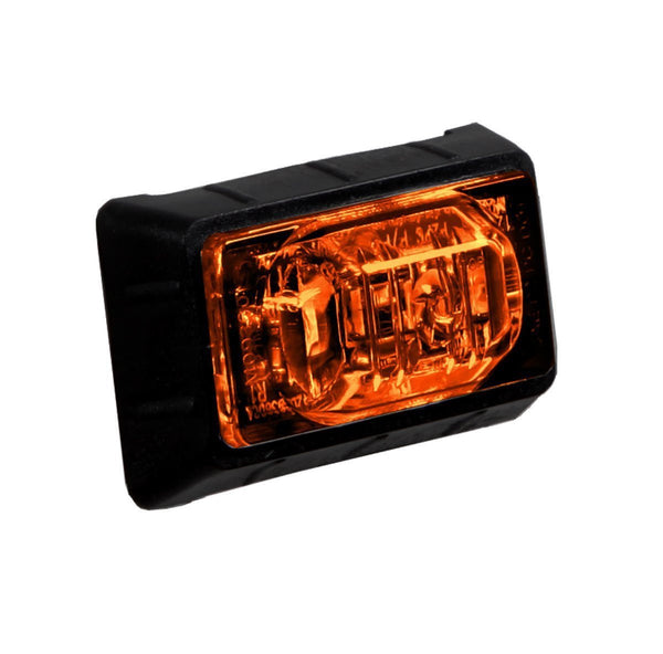 "Maxxima M09360Y Amber 3 LED 1.50"" Mini P2PC Clearance Marker Light"