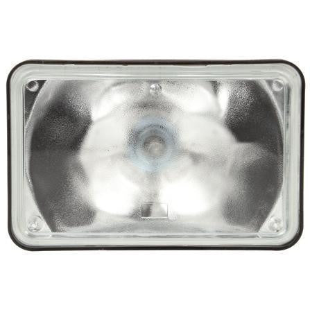 Truck-Lite 628WD Aux. 4x6 in. Rectangular Halogen Spot Light, Black, 1 Bulb, 12V, Display