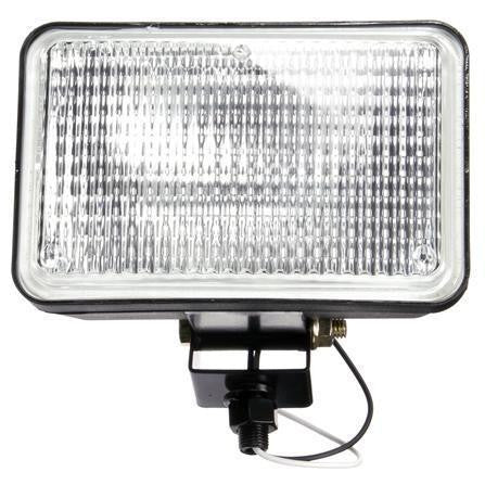 Truck-Lite 629WD Auxiliary 4x6 In Rectangular Halogen Flood Light Black 1 Bulb 12V Display